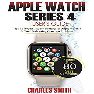 Apple Watch Series 4 User's Guide audiobook cover art