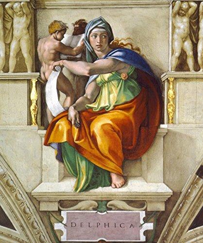 Get Custom Art Michelangelo - Delphic Sibyl, Size 24x30, Non-Canvas Poster Print