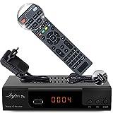 Kabelreceiver Kabel Receiver Receiver für digitales Kabelfernsehen - DVB-C (HDTV ,DVB-C / C2, DVB-T/T2 , HDMI , SCART , USB 2.0 , ) + HDMI Kabel (+Intelligente Fernbedienung)
