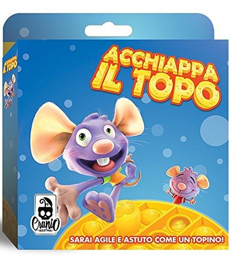 Cranio Creations- Topolino ACCHIAPPA Il Topo-Gioco da Tavolo, Multicolore, CC104
