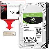 Fantom Drives FD 5TB Internal Hard Drive Upgrade Kit with ST5000LM000, 2.5', 15mm, 5400RPM, 128MB Cache (HDD5000M-KIT2), 5 TB