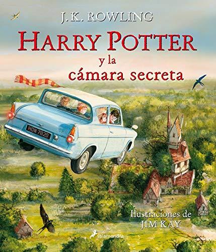 Libro De Harry Potter Ilustrado  marca Salamandra