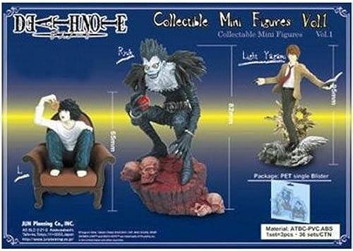 Death Note Collectible Mini Figuren Vol. 1  Ryuk, Light & L