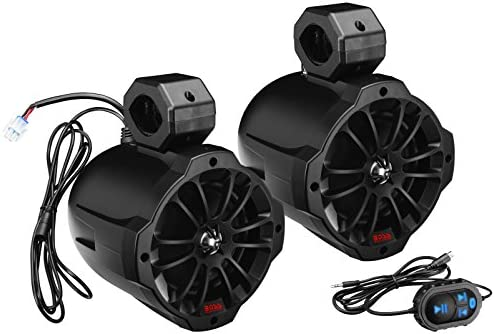 BOSS Audio Systems B62ABT Bluetooth Amplified Waketower Speakers product image