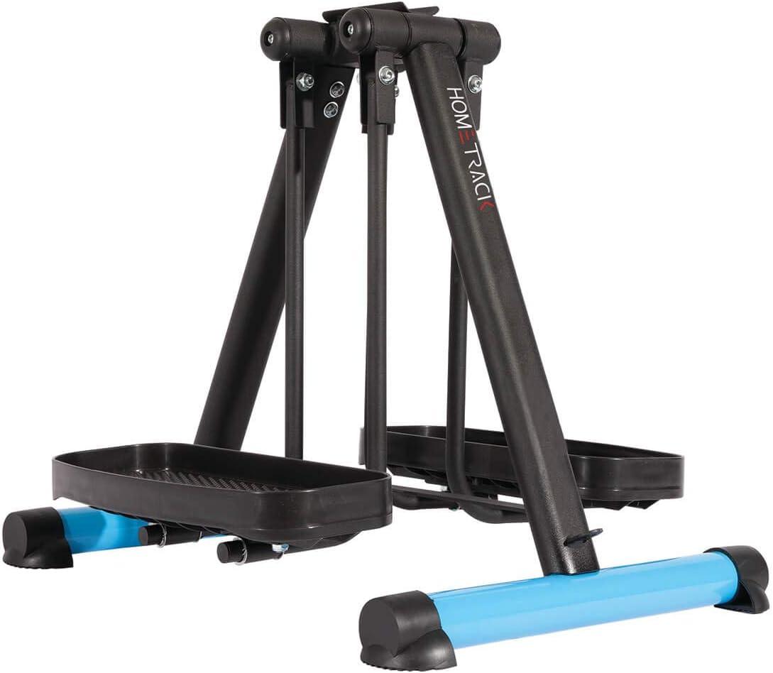 North American Health + Wellness HomeTrack Leg Black shipfree Exerciser Super sale