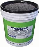 Asfalto Frío Vodiasfalt impermeabilización 5kg y protector en la construcción
