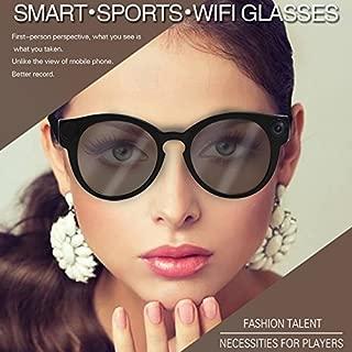 Metermall K11 Camera Sunglasses 1080p Wifi Mini Micro Cameras Polarized-lenses HD Sports Video Recorder Camcorder Electronic Accessories