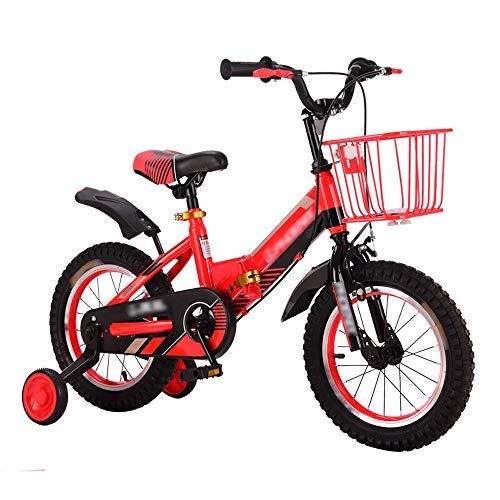 Byx kinderfiets voor kinderen, inklapbaar, met stabilisator en mand voor auto, materiaal: metaallegering, 4 jaar, 10 jaar