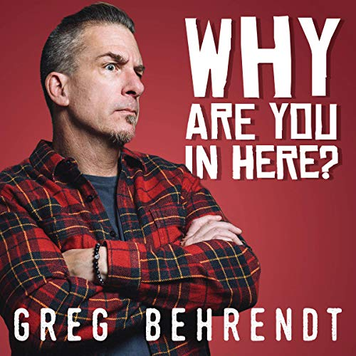 Why Are You in Here? audiobook cover art