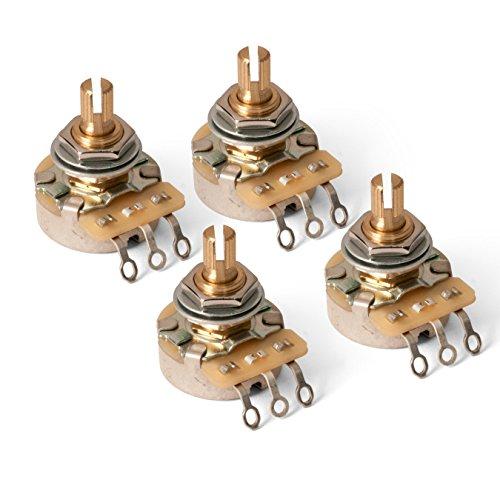 """Emerson Custom PRO CTS 3//8/"""" 250K BLENDER Short Split Shaft Potentiometer"""