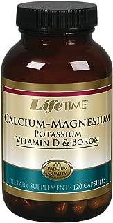 Lifetime Calcium Magnesium Potassium, Vitamin D & Boron 120 Capsules