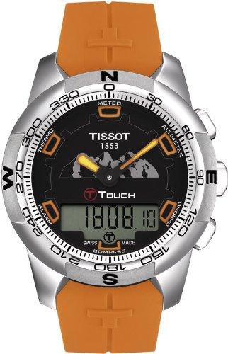 Tissot Reloj Analógico para Hombre de Cuarzo con Correa en Silicona 7611608250389