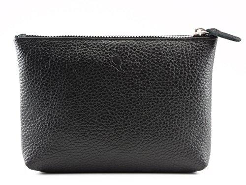 PA – 1677 Grand schlamper M Cosmétique Sac Cuir de Bovin Nappa Derby Fashion Noir