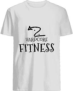 Hardcore Fitness Hardbody-Men Women T Shirt Cotton short sleeve T shirt, Hoodie for Men Women Unisex