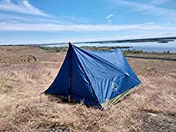 professional Trekker 2 River Country Products Tent, Trekking Pole Tent, Ultralight Camping Tent – Blue