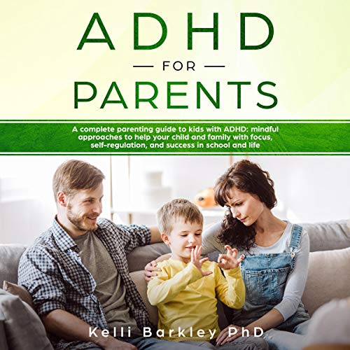 ADHD for Parents audiobook cover art