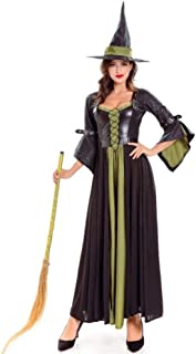 Women BDress Sorceress Cosplay Adult Halloween Party Costume halloween,01