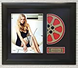 Drew Barrymore Framed Reproduction Signature Photo Reel Display