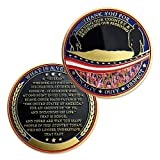 Military Challenge Coin Military Veterans Thank You for Serving Our Country