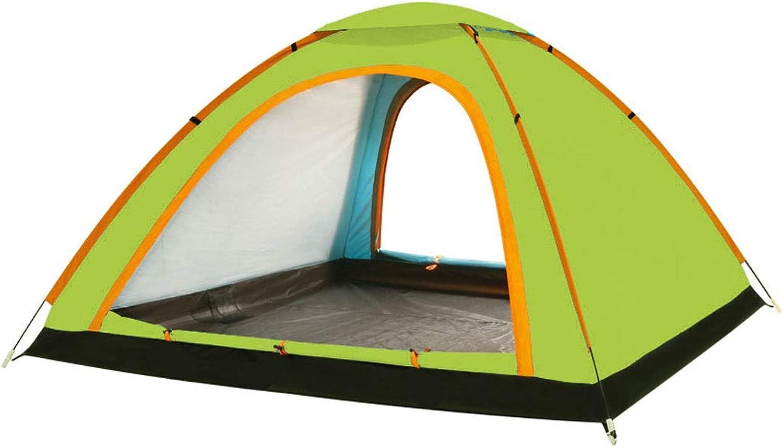 HAOHAOWU Tente extérieure de Parasol, tente complètement automatique 2-4 personnes voyageant Dans la famille de Marche Sauvage imperméable et Ventilation B07MMZF87B  Globale Verkäufe