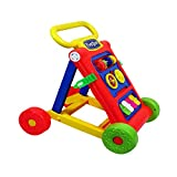 PrimeKart First Step Baby Activity Walker (Red) - Toddler Learning Toys for 9