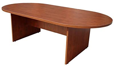 Boss 95 by 43-Inch Conference Table, Cherry