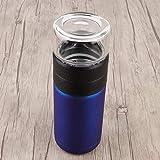 Omabeta Tazza da tè Portatile in Materiale Durevole per Uomo(Blue)