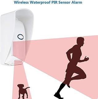 VBESTLIFE Sensore PIR a Movimento Senza Fili, 433MHZ Sensore di Movimento a infrarossi per Animali Domestici con sensore P...