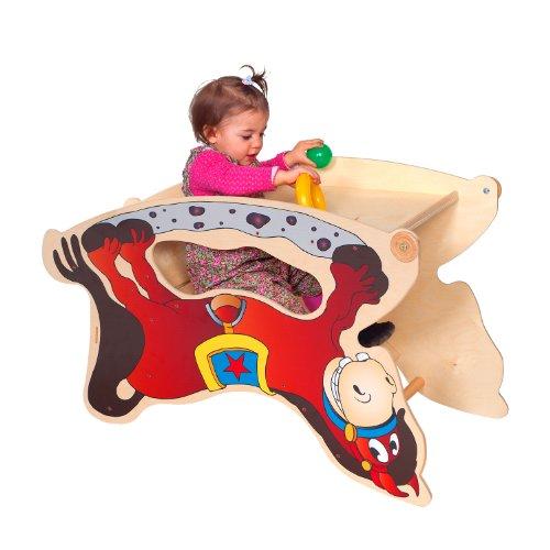 TRIHORSE ® Baby Kinderhochstuhl 3 in 1 Hochstuhl, Schaukelpferd, Spieltisch - 2