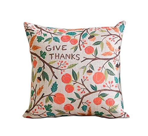 belle motif feuillage et de fleurs ameublement de maison oreiller / coussin