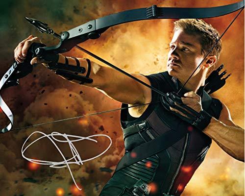 DS Jeremy Renner - Hawkeye Signiert Autogramme 21cm x 29.7cm Plakat Foto