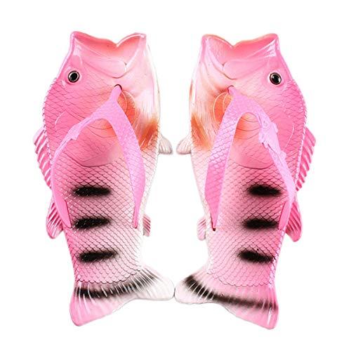 AARDIMI Sport Outdoorsandalen, Sommer Fisch-Flops Strandschuhe Badeschuhe Hausschuhe Duschschuhe und Sandalen für Männer Frauen und Kinder (38/39, Pink)