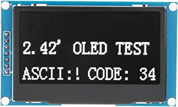 2.42 Inch 128X64 OLED Display Module for Arduino SSD1309 Parallel I2C SPI Interface(White Text)