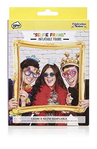 Close Up Aufblasbarer Selfie Rahmen zum Aufblasen, goldfarben/Inflatable Selfie Frame