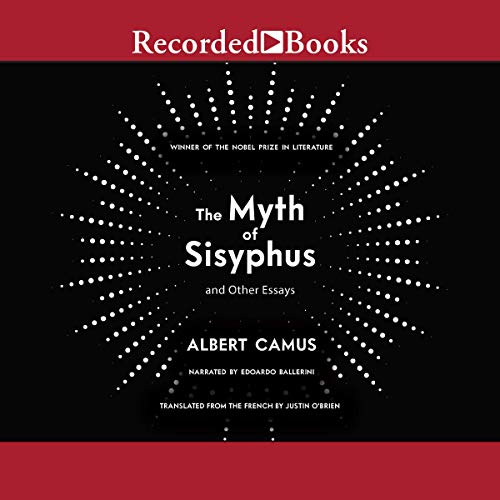 The Myth of Sisyphus audiobook cover art