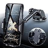 Handyhalterung Auto Handyhalter fürs Auto Lüftung & Saugnapf Halterung Handyhalterung fürs Auto 3 in 1 Universale KFZ Handyhalterung Smartphone Halterung