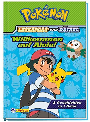 Pokémon: Willkommen auf Alola! - 2 Geschichten in 1 Buch: Lesespaß und Rätsel