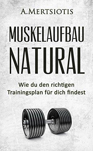 MUSKELAUFBAU NATURAL: Wie du den richtigen Trainingsplan für dich findest