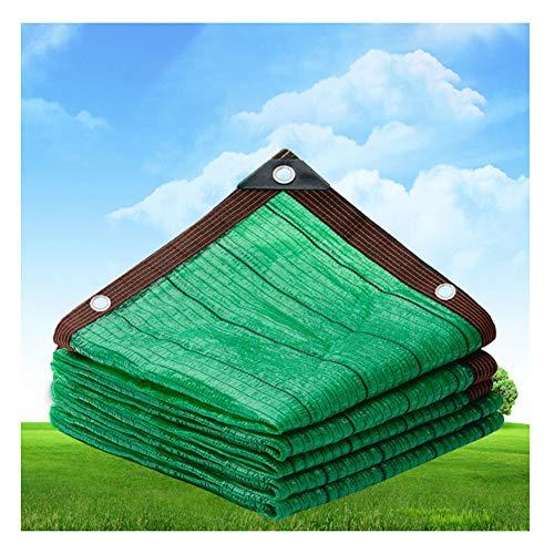 SCAHUN Filet D'ombrage Filets Protection Solaire Point Plat Structure De Chiffrement ÉCran Privé Filet De Parasol De Protection UV Jardin/Balcon,Green-5×10m