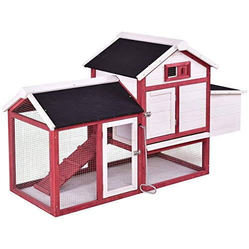 tangkula rabbit hutch