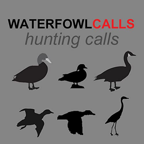 REAL Waterfowl Calls App - The Ultimate Waterfowl Hunting Calls App For Ducks, Geese & Sandhill Cranes - (ad free) BLUETOOTH COMPATIBLE