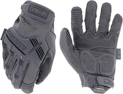 Mechanix Wear M-Pact Guantes tácticos, Lobo Gris, Large