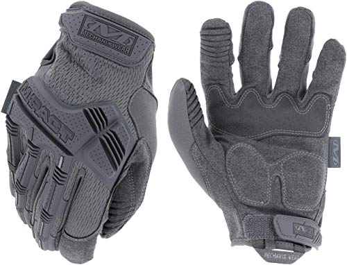 Mechanix Wear M-Pact® Wolf Grey Handschuhe (Large, Grau) 33W / 34L