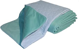 Nobles Premium Quality Bed Pad, Quilted, Waterproof, Reusable and Washable, (34 x 52)