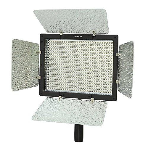 Yongnuo YN-600, 3200 K – 5500 K Farbtemperatur-LED-Videoleuchte für Camcorder oder DSLR-Kameras