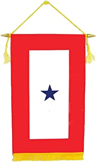Best red blue gold flag Reviews