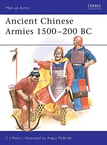Ancient Chinese Armies 1500-200 BC (Men-At-Arms Series, 218)
