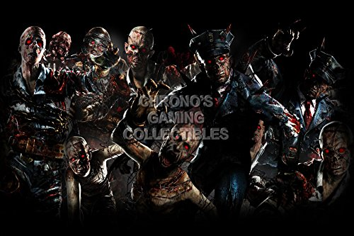 PrimePoster - Call of Duty Black Ops II Zombies Poster Glossy Finish Made in USA - YCOD018 (24' x 36' (61cm x 91.5cm))