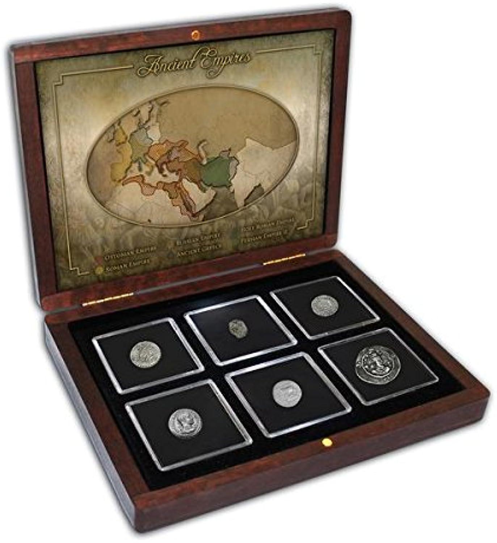 grandes precios de descuento IMPACTO IMPACTO IMPACTO COLECCIONABLES Monedas Antiguas - 6 Monedas en Plata de 6 Antiguos Imperios  ordenar ahora
