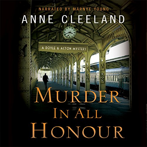 Murder in All Honour audiobook cover art